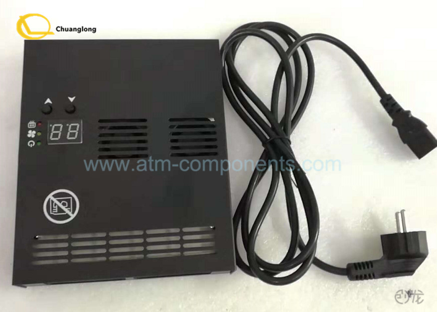 Black 400W ATM Spare Parts Heater NCR Wincor Diebold 195 * 160 * 35mm Size